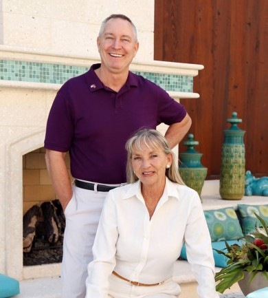 Betty Mullinix and Steve Abbe Sarasota Golf course homes specialists